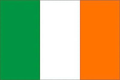 Ireland Irische Flagge Ireland Trikolore warm weich Fleece Decke Kuschel Umhang
