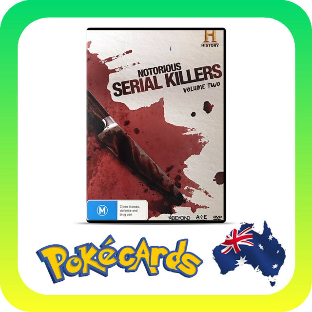 Notorious - Serial Killers Volume 2 Only (DVD, 2016)
