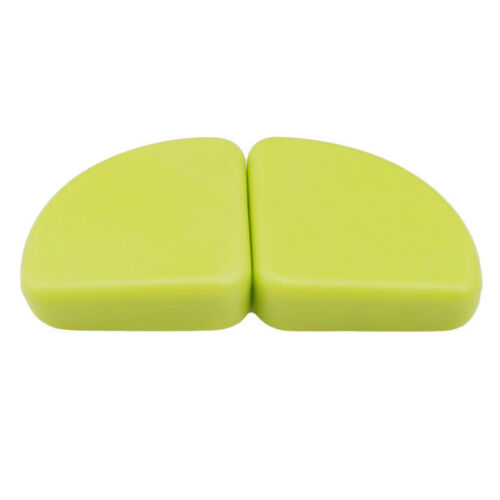 4pcs White//Green Child Baby Safe Silicone Protector Table Corner Edge Cover Z