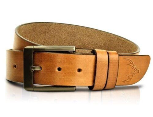 Leather Mens Belt Belts Strap 100/% Genuine Full Grain Real Black Tan Jeans Size