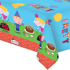 BEN AND HOLLY CHILDRENS BIRTHDAY PARTY PLASTIC TABLE CLOTH NEW