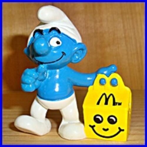 SCHTROUMPF Smurf Pitufo Pitufo Schlumpfe Figurines Serie Mc DONALDS