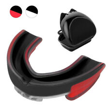 Boxing Mouth Guard Adult Soft EVA Mouth Protective Teeth Guard Sport With BoRCUS