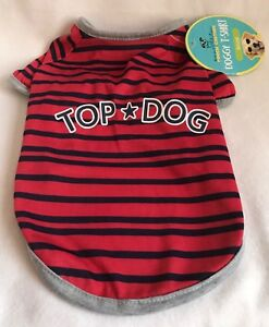 Pouch-Couture-Top-Dog-Doggy-Tshirt-Small-Brand-New