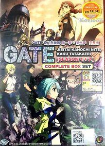 Dvd Japan Anime Tor Jieitai Kanochi Nite Kaku Tatakaeri Season 1 2 Englisch Sub Ebay