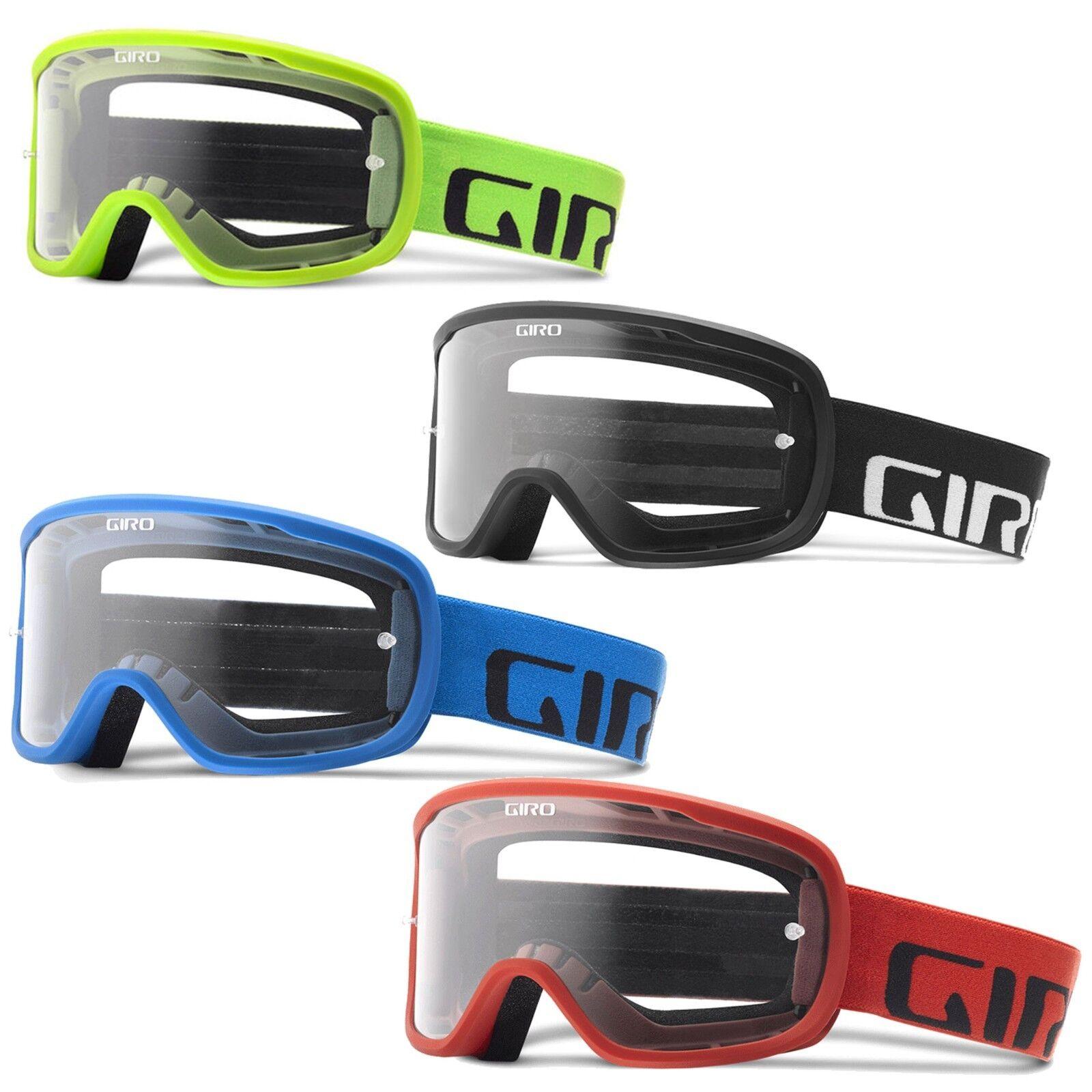 Giro Tempo MTB Goggles Clear Lens Mountain Bike Eyewear