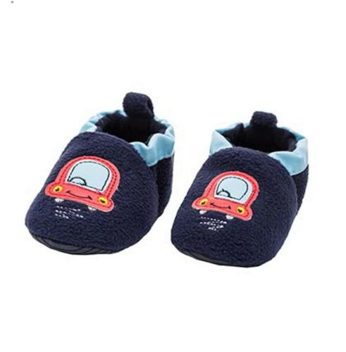 MAXIMO Baby Chaussures KRABBELSCHUHE Stoppi ABS car bleu chaud taille 19 20 21 Nouveau