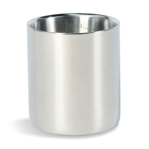 garanti Acier Inoxydable Tasse 350 ml avec couvercle Tatonka Inox Gobelet