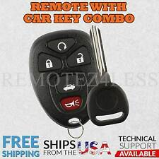 New Replacement Keyless Entry Car Remote Fob for 22733524 + Chip Plus Key n Clip