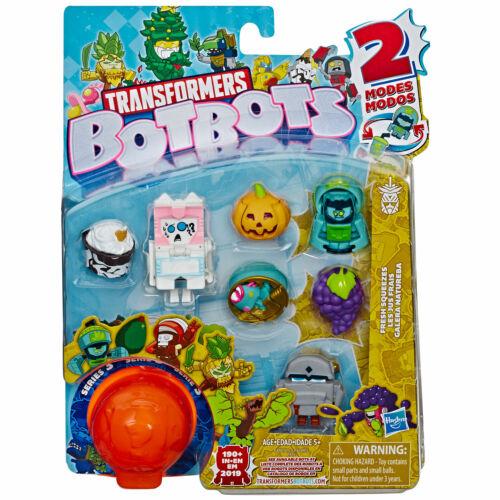 Transformers botbots SERIE 3 da collezione 8 Figura Pack Scegli il tuo pacco *