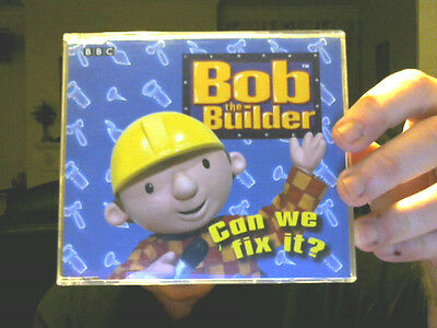 CAN WE FIX IT CD SINGLE VIDEO BOB THE BUILDER PERFECT XMAS GIFT FREE UK POST