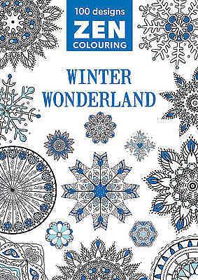 Zen Colouring - Winter Wonderland, GMC Editors, New Book
