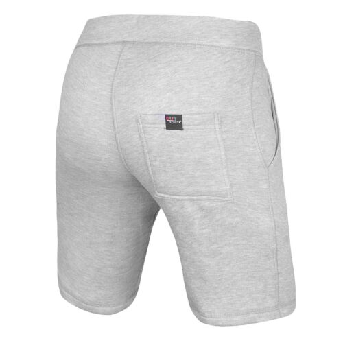 DEFY Men/'s Classic Casual Fit Fleece Shorts Gym Exercise Jogger Fitness in Grey