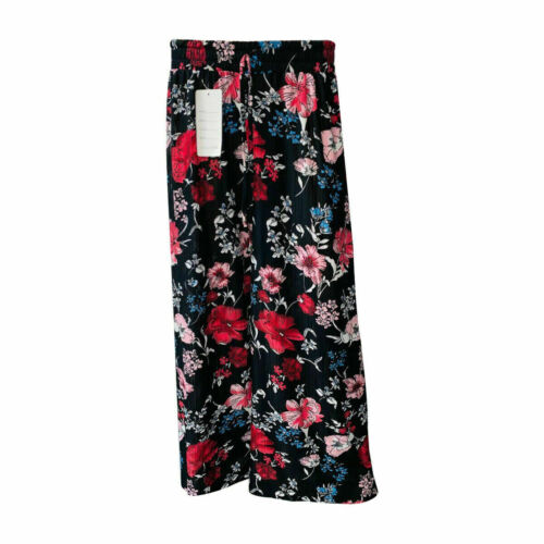 Ladies Floral Print Palazzo Wide Leg Pants