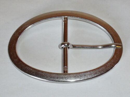 Gürtelschnalle Schließe Schnalle Verschluss  45 mm silber  NEUWARE  rostfrei