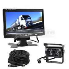 12V-24V 7 inch LCD Monitor IR Night Vision CCD Rear View Camera For Bus Truck