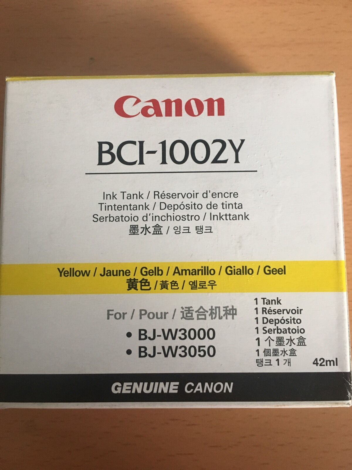 Canon Bci 1002y Ink Tank 1 Yellow Ebay Tinta G Series Norton Secured Powered By Verisign