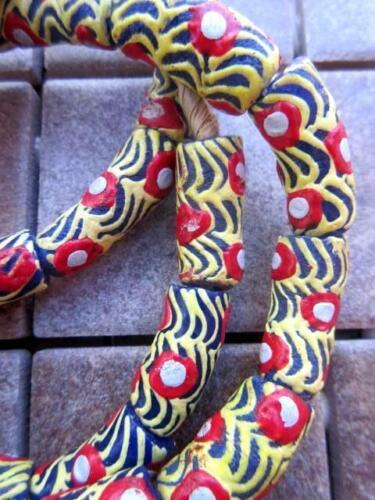 70088 African Glass Krobo  Beads