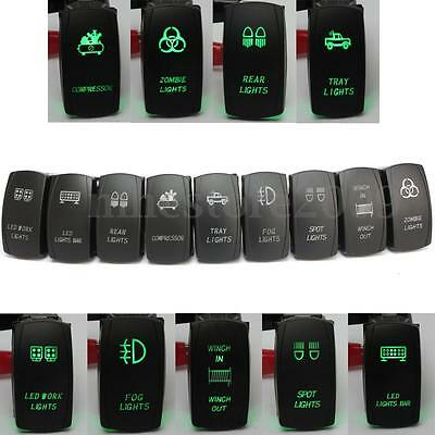 5 Pin Laser LED Light Bar Rocker Toggle Switch Narva ARB Carling Style Car Boat