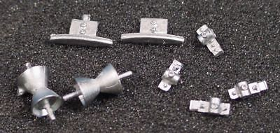 O/On3/On30 1/48 WISEMAN DETAIL PARTS O319 MINING AERIAL TRAM TOWER HARDWARE SET