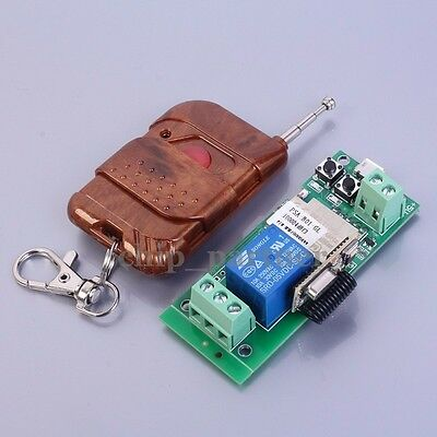 5V Inching Self-Lock Wifi Module 433MHz W/ Remote Control For Door Control