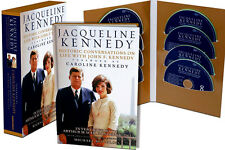 JACQUELINE KENNEDY HISTORIC CONVERSATIONS ON LIFE WITH JOHN F WITH CDS NEW