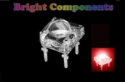5 x Blue Piranha // Super Flux LED 5mm Dome UK 1st CLASS POST