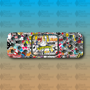 "Band Aid Sticker Bomb Dent Cover Funny 6/"" Euro Custom Vinyl Decal Sticker JDM"