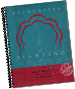 Collectibles Other Collectible Lighting Creative Mid Century 1939 Decorative Lighting Catalog John C Virden Co Lamps Architects