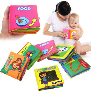 For-Kids-Baby-Intelligence-Development-Cloth-Bed-Cognize-Book-Educational-Toy