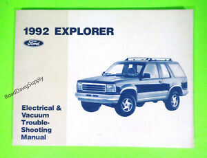 Details about 1992 Ford Explorer Electrical Wiring Diagrams Service on 1999 ford windstar fuse diagram, 05 ford explorer fuse box diagram, 92 ford explorer manual, 1999 explorer fuse panel diagram, 92 ford explorer seats, 2002 ford explorer engine diagram, 1999 ford explorer engine diagram, 1999 ford explorer fuse diagram, 2000 ford explorer fuse diagram, 95 ford explorer fuse box diagram, 1999 ford explorer intake diagram, 98 ford explorer fuse diagram, 1999 ford explorer parts diagram, 92 ford explorer engine, 92 ford explorer parts, 1999 ford explorer ac diagram, 2003 ford explorer fuse diagram, 2012 ford explorer fuse diagram,