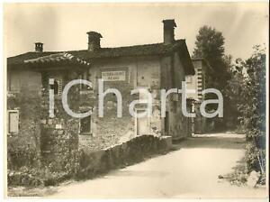 1930 ca BORGOLOMBARDO Scorcio con la nuova fattoria VOLONTE' - Foto 24x18 cm