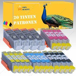 1-30-TINTEPATRONEN-kompatibel-mit-CANON-Pixma-550-551-MX725-MX925-DiSa-INK06