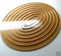 8x10 8-piece Longarm Nested Acrylic Oval Quilting Template Stencil Plexiglass