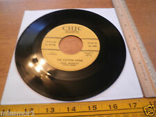 1957 Chas. MeDevitt Chic Records 1008 45 RPM VG+ Freight Train The Cotton Song