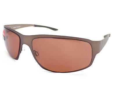 Bolle - Auckland Matte Brown Sunglasses / Polarized A14 Brown Lenses 12240