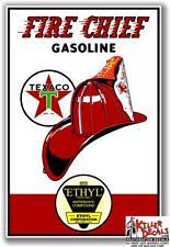 "TEXA-11 12/"" X 7.75/"" TEXACO W//O STAR GASOLINE GAS PUMP OIL TANK DECAL"