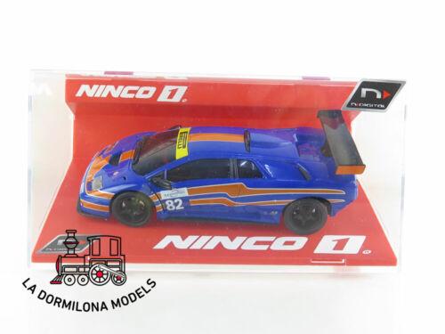NUEVO A ESTRENAR NINCO 55049 N-DIGITAL LAMBORGHINI DIABLO GTR NOGARO #82
