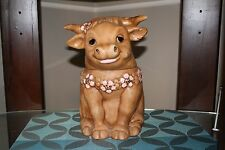 Vintage Twin Winton Ferdinand The Bull Cookie Jar Collectable Kitchen Decor USA