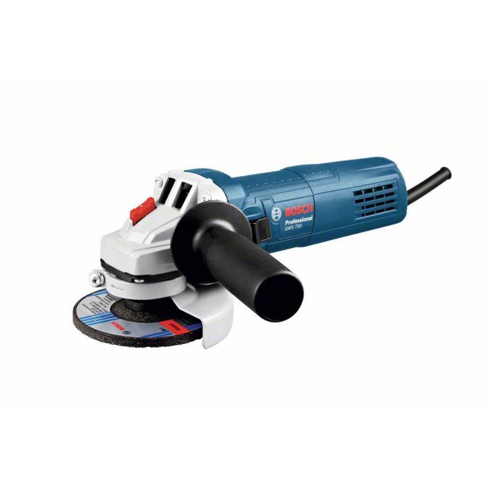BOSCH Ø 125mm Winkelschleifer GWS 750 / 750 Watt