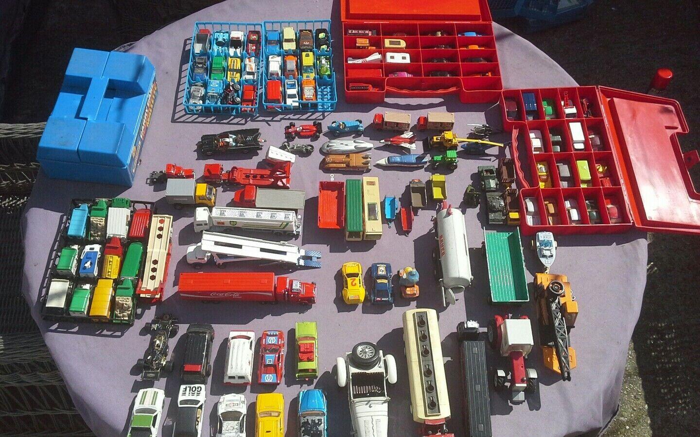 Gree quantità di veicoli diesel vintage