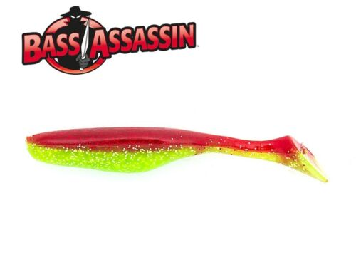 """Zanderköder USA Gummifische Bass Assassin Walleye Assassin 4/"""" 9cm 6g Barsch"""