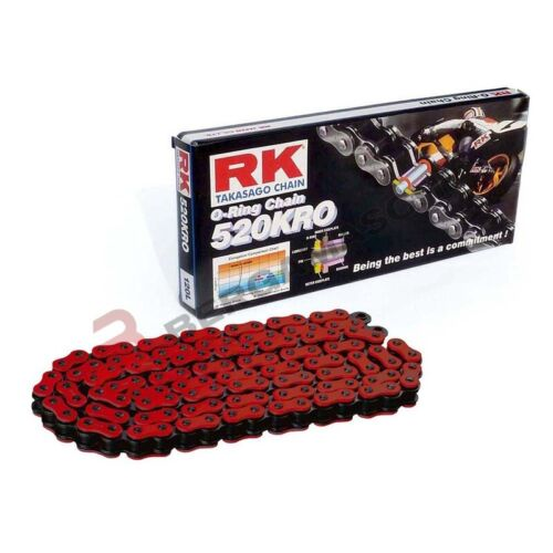 Chain Sealed RK 520KRO 120 Links Clf Red Yamaha YZF R6 600 1999 2012