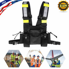 Wireless Tactics Safety Vest Waistcoat Withadjustable Strap For Men Amp Women