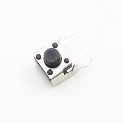 20Pcs 6x6x6mm Right Angle 2 Pin Momentary Tactile Tact Push Button Schalter