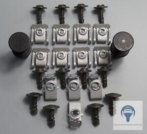 Unterfahrschutz-Einbausatz-Unterboden-Repair-Kit-Audi-A4-B8-A5-Q5