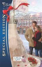 Silhouette Special Edition: The Bachelor's Christmas Bride 2085 by Victoria Pade