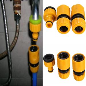 """3PC 1//2/""""3//4/"""" Tuyau D/'ArrosAge Tuyau D/'Eau Connecteur Rapide Tube De Raccord Robinet Adaptateur Set"""