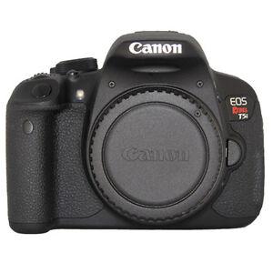 Canon rebel t5i camera