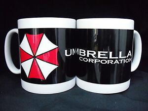 UMBRELLA-CORPORATION-BLACK-RESIDENT-EVIL-GAMING-FUN-MUG